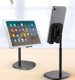 Área de trabalho Tablet Titular Eleva 168 milímetros de alumínio ajustável suporte Hands Free Mobile Phone Tablets Suporte para iPad Air Mini iPhone11 de