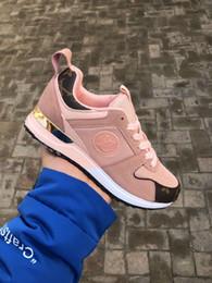 2019 chaussures casual en cuir pur Nouvelle arrivée femmes robe de luxe chaussures Sneakers designer formateurs femmes top qualité chaussures de sport