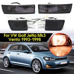 2019 faróis de neblina de golfe Para VW Golf Jetta Mk3 12V 21W Frente Smoke Lens Fog Luz Signal Lamp nova marca desconto faróis de neblina de golfe
