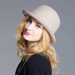 7ddafc91fe666 2019 gorras de las muchachas gorras Sombrero de lana para mujer Sombrero de  lana Sombrero de