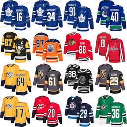 cavaleiro da estrela Desconto 2019 Toronto Maple Leafs Vegas Golden Knights 61 Mark Stone estrelas 36 Zuccarello Nashville Predators 17 Simmonds 64 Granlund camisola do hóquei
