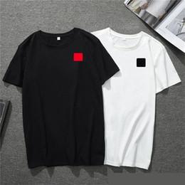 2020 nova camisa mens designer de t-americano European Heart populares pequena vermelho T-shirt impressão homens mulheres casais de luxo t-shirt de
