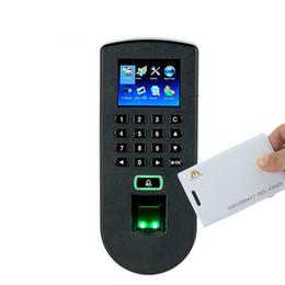 Cartão on-line-TF1900 Biométrico de Comparecimento do Tempo de Impressão Digital e Sistema de Controle de Acesso ZK F19 Fingerpring E Controlador de Acesso Da Porta Do Cartão RFID