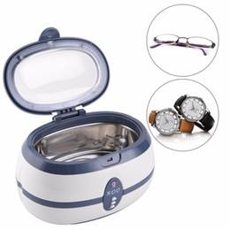 Outil de nettoyage des bijoux Machine de nettoyage de montre Montre de lunettes Faux dents Nettoyeur ultrasonique Machine de nettoyage de bain à ultrasons ? partir de fabricateur