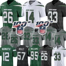 Camisa de sino on-line-New 26 Le'Veon Bell York # Jet Jersey 33 Jamal Adams 14 Sam Darnold Jersey CJ Mosley Joe Namath 95 Quinnen Williams Jerseys