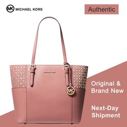 aaed404e5add mk designer bags Promo Codes - Jet Set Travel Tote (Rose Gold) Luxury  Handbags
