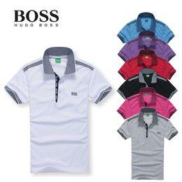 2019 серые рубашки поло 2019 лето тонкий мода тонкий футболка мужчины лацкан с коротким рукавом футболка camisa masculina подросток поло футболки мужские футболки серый плюс