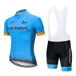 2019 orica велосипедные одежды 2019 DE АСТАНА задействуя набор команды Джерси 12D велосипед шорты костюм Bicycling Майо нижний износ Ropa Ciclismo MENS лето быстро сухой