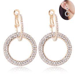 Pequeños aros de oro pendientes online-2019 Fashion Designer Stud Earrings Dreamcatcher Small Hoop Earrings Gold Stud Charms Pendientes Wedding Party Jewelry para Mujeres Niñas