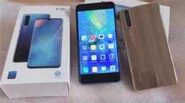 clone di sim card Sconti Huawei p30 smartphone telefoni 5,5 pollici 3D Android 8.1 MTK6580A quad core cellulare dual sim spettacolo 4 gb RAM 64 GB ROM 3800 mAh falso 4G LTE DHL