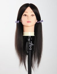 human hair haircut Coupons - All manufacturers customized human hair animal learning school real hair wig has Haircut head hair model