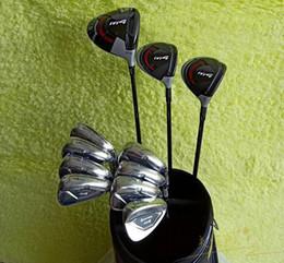 Club de golf para hombre M4 Set de calidad superior Juego completo + # 3 # 5 Fairway Woods + Irons + Headcovers Fotos reales Contactar al vendedor desde fabricantes