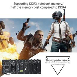 Motherboard speicher online-B250 BTC Mining Motherboard CPU 8 Karte DDR3 Speicher LGA1511 Erweiterungsadapter Desktop Computer Motherboard