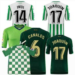 0223259f73b4 2018 2019 Real JOAQUIN Soccer Jersey 18 19 betis home away 3rd special  limited edition football shirts