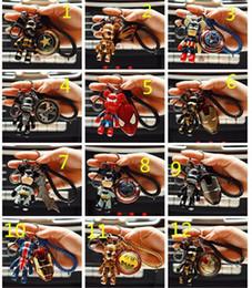 2019 ударное кольцо 98 стилей Marvel Thor Hammer Мстители Mjolnir Figure Автомобильный брелок для стайлинга автомобилей Кошелек Сумка Рюкзак Брелки Подвеска Автомобильные аксессуары 190426 дешево ударное кольцо