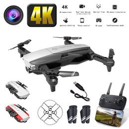 2019 quadcopters rc RC Drone 4K Quadrotor Folding aérea Drone avião UAV FPV Wifi transmissão de imagem dobrável Altitude Reter helicóptero com bateria