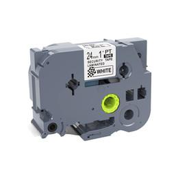 formatador hp Desconto 1PCS 24 milímetros preto no branco TZe-SE5 TZ-SE5 fitas de etiquetas TZ-SE5 compatível para PT330 PT1600 PT2710 PT-H500 impressoras de etiquetas P-touch