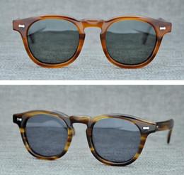 2019 occhiali da sole depp Occhiali da sole polarizzati da uomo Marca Lemtosh Johnny Depp Occhiali da sole rotondi da donna Occhiali da sole con lenti polarizzate di qualità superiore con custodia originale sconti occhiali da sole depp