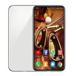 Mp3 falso online-Andriod del teléfono 11 Max GooPhone pro 1GBRAM 4GB / 16GBROM MTK6580 Quad Core 5MP 6.5inch 3G WCDMA caja sellada falso 4G teléfono inteligente está representada