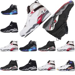 f1f0a903337200 8 mens basketball shoes 8s VIII Countdown Pack Three Peat CHROME Playoff  for man outdoor sneakers designer shoes sports trainers size 13