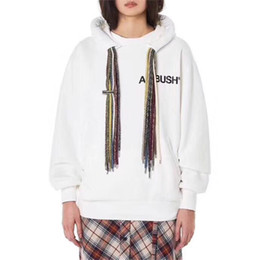hollister hoodie Coupons - AMBUSH Hoodie Men Women High Quality Clothes AMBUSH Pullover Sweatshirt Hip-Hop Skateboard Hoodie