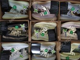 nuevas zapatillas kanye west Rebajas 2019 Nuevo diseñador GID Clay Antlia Lundmark Forma verdadera Hiperespacio Kanye West Zapatillas de correr Reflexión estática Hombres Mujeres Deporte Zapatillas de deporte Entrenador