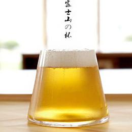 Tazze di caffè giapponesi online-Diverso giapponese Fuji Trasparente Tazza di birra Bevande Caffè Protezione ambientale Originalità Regalo Bicchiere da vino