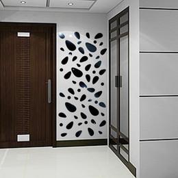 Fundos 3d on-line-12 pcs espelho 3d adesivo de parede removível para sala de estar quarto tv fundo mural mural decalque da parede arte moderna diy casa decoração