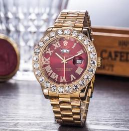 relógios femininos luxuosos Desconto 2019 relogio masculino dos homens / mulheres relógio de luxo elegante dial com calendário pulseira dobrável fivela dom dos homens dos homens de luxo