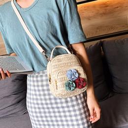 2019 sacchetto di spalla fiorito borsa a spalla singola alla moda versatile personalità Donna Wild Flowers Cherry Crossbody Bag sconti sacchetto di spalla fiorito
