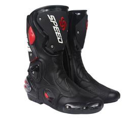 scarpe da uomo inverno Sconti scarpe Locomotiva, scarpe da moto equitazione da uomo, lungo inverno antiscivolo resistente stivali da corsa