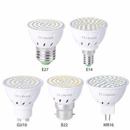 cob ampoule 5w Promotion E27 E14 GU10 MR16 GU5.3 ultra-lumineux à intensité variable 9W 12W 15W 85 ~ 265V ampoules LED spotlight COB led lampe blanc chaud / froid