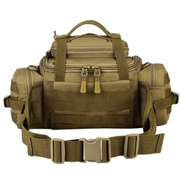 Argentina Paquete de cintura de viaje al aire libre Tactical Assault Gear Sling Pack MOLLE Bolsa de rango de despliegue modular Senderismo Fanny Aparejos de pesca # 108875 supplier tactical gear sling Suministro