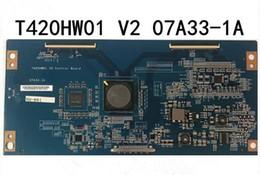 placa auo Desconto teste original de 100% para a placa lógica de AUO LT42510FHD T420HW01 V2 07A33-1A