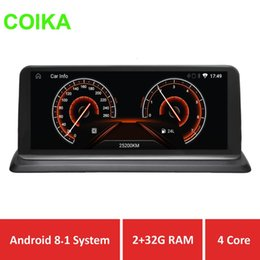 gps navi Coupons - COIKA Android 8.1 System Car Stereo Player For E87 E81 GPS Navi BT Mirror Screen 2+32G RAM With Idriver Blue Ray IPS Screen