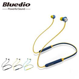 2018 Bluedio TN Bluetooth auriculares con cancelación activa de ruido en la oreja auricular con micrófono para teléfono iphone xiaomi desde fabricantes