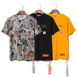 coppie t-shirt Sconti Fashion Designer Lettera Stampata Tees Heron Preston Mens Tshirts Casual Maniche corte a maniche corte