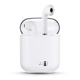 I7S TWS Беспроводные наушники Bluetooth наушники с зарядным устройством Портативные наушники Twins Мини Bluetooth наушники для iPhone / смартфона cheap wireless bluetooth sony portable headphones от Поставщики беспроводные портативные наушники bluetooth sony
