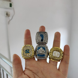 Deutschland 2018 heiße Mode Ledertasche 1982 2005 2009 North Carolina Tar Heels Meisterschaft Ring Taschen Zubehör Großhandel Versorgung