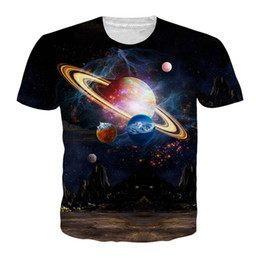 f3f088443d273 Fashion Galaxy Space Planet Harajuku Style Newest Fashion Men Women Tops 3D  Printing T-Shirt Unisxe Funny Short Sleeved Tees T-shirt N579