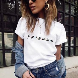 39f719d51fe0 Large size T-Shirt Top new Harajuku letter printing Summer Tops Fashion  Casual Tees For Women Friends TV Show Shirt Gift T shirt