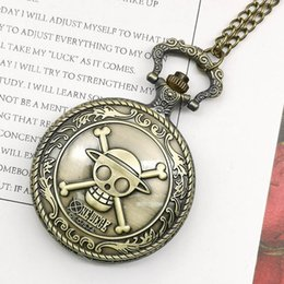 2019 смотреть женщин медь Top  Vintage Copper Pocket Watch ONE PIECE Cut Pattern Fashion Retro Necklace For Men Women Kids TD2005 дешево смотреть женщин медь