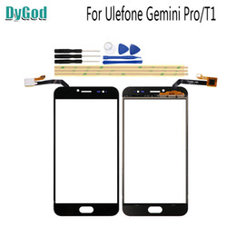 gemini pro Promo Codes - 5.5 inch For Ulefone T1 Touch Screen Digitizer Glass Replace Panel For Ulefone Gemini Pro Replacement Parts With Tools Adhesive