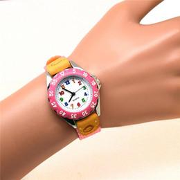Carino ragazzi ragazze orologio al quarzo bambini cinturino in tessuto per bambini studenti orologio da polso orologio regali GDD99 da allarme del braccialetto fornitori