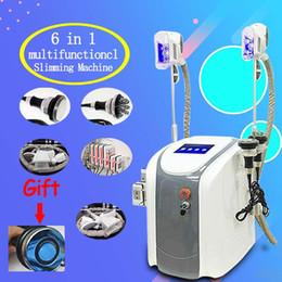 2019 cryolipolysis coolsculpting machine Tragbare Cryolipolysis-fettes Gefrieren, Maschine abnehmend Coolsculpting-Kryotherapie-Ultraschall Rf-Fettabsaugung Lipo Laser-Maschine