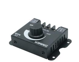 mini led controlador manual Desconto DIODO EMISSOR de luz 30A 360 W LED Cor Única Interruptor Dimmer Controlador de Brilho para DC 12 V 24 V 5050 3528 CONDUZIU a Luz de Tira