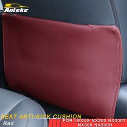LEXUS NX200 NX300 NX200t NX300h Car Care sede di cuoio della copertura Back Protector Anti-kick Pad Mat Cuscino Accessori Interni da