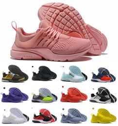 2019 Presto Chaussures De Course Hommes Femmes Ultra BR QS Jaune Rose Prestos Noir Air Blanc Oreo Extérieur Jogging Hommes Baskets Baskets Taille 36-46 ? partir de fabricateur