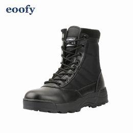 Tactical Military Boots Mens Arbeitssicherheitsschuhe Armee Schwarz Kampf Stiefel Herren Schuhe Wüste Weiblich