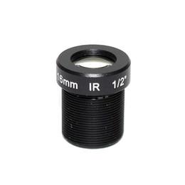 lunga distanza dalla fotocamera Sconti 5megapixel M12 fisso 1/2 pollici 16 millimetri CCTV Lens Long Distance View Per IP Camera 1080P / 4 MP / 5MP AHD